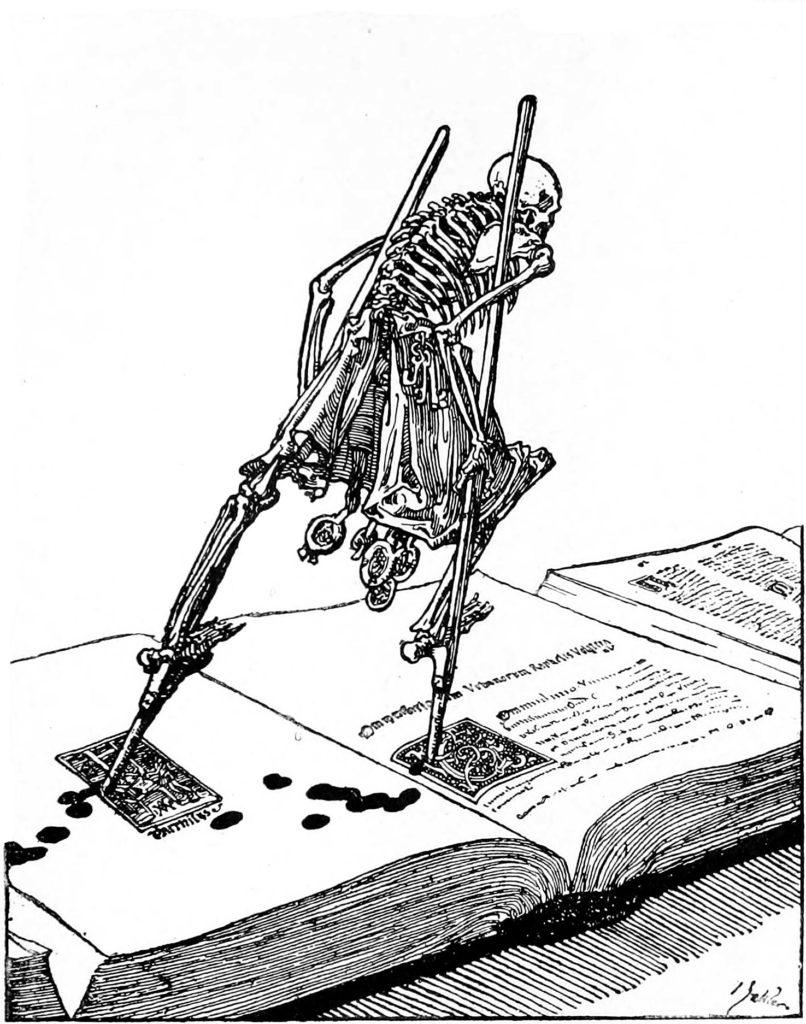 La danse de la mort, de Joseph Sattler